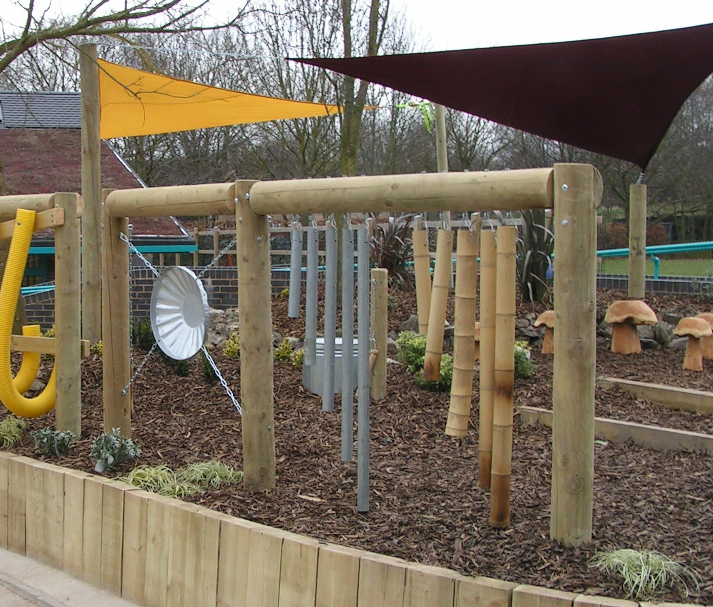 Gardens of reflection for Sensory garden designs